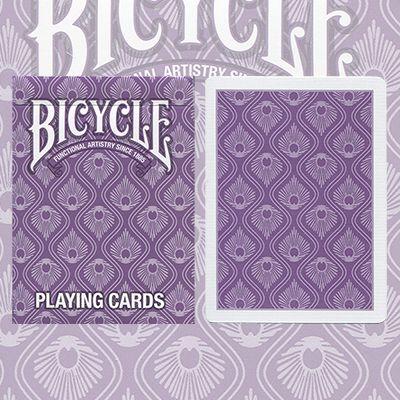 8 decks playing cards purple