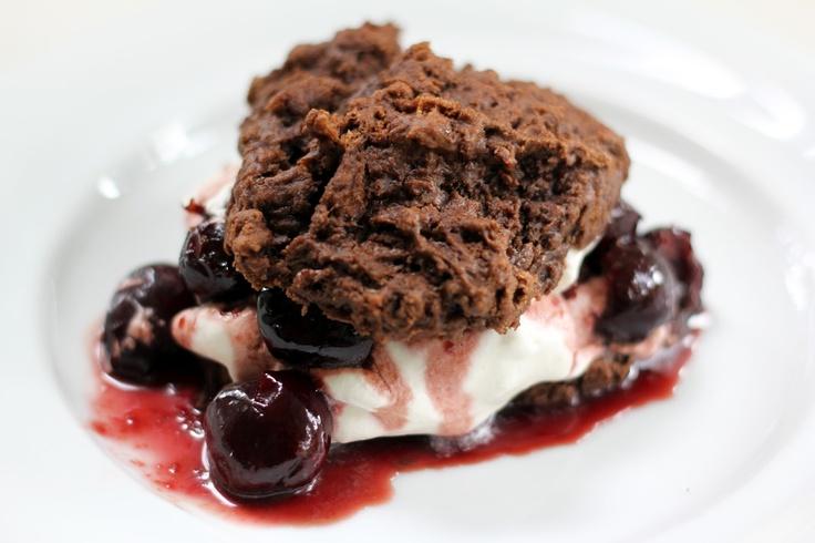 ... whipped cream warm peach shortcakes with bourbon brown sugar cream