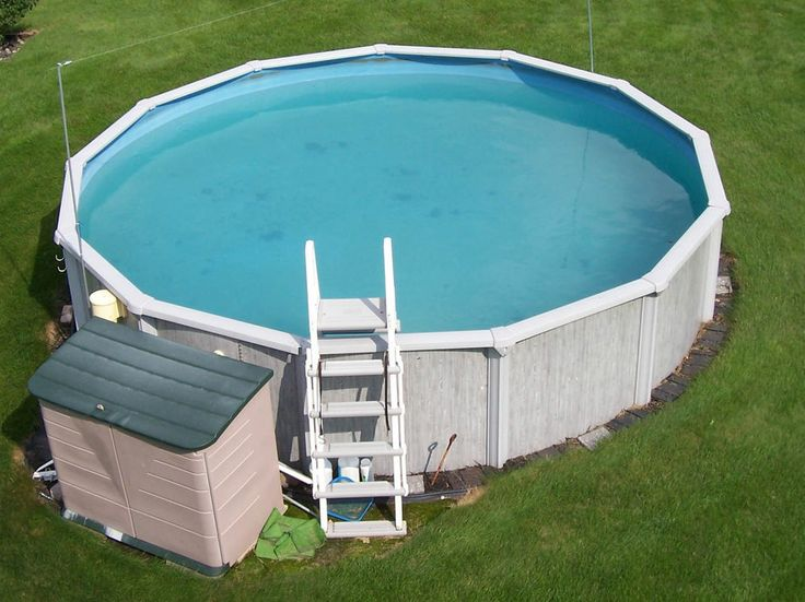 18x4 Steel Wall Above Ground Swimming Pool Pump Filter