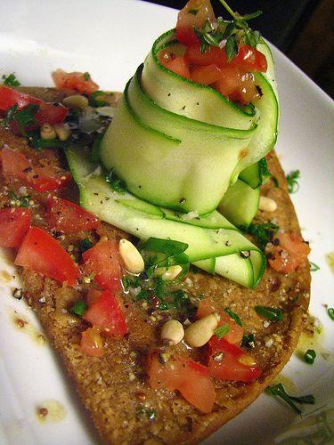 farinata with zucchini carpacio | food...yummy for my tummy | Pintere ...