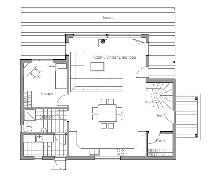 Small House Ch102 House Ideas Small House Expandable