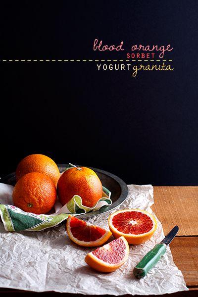 blood orange sorbet | Halloween is comming... | Pinterest