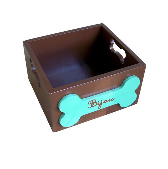 Wooden Dog Toy Storage Box.. Beautifully made, but I'm going to make ...