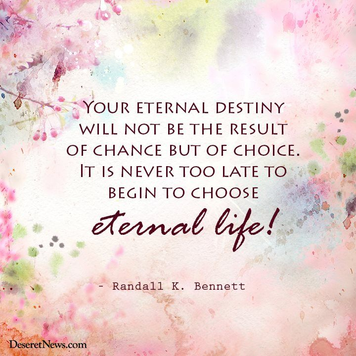 lds quotes on eternal life quotesgram