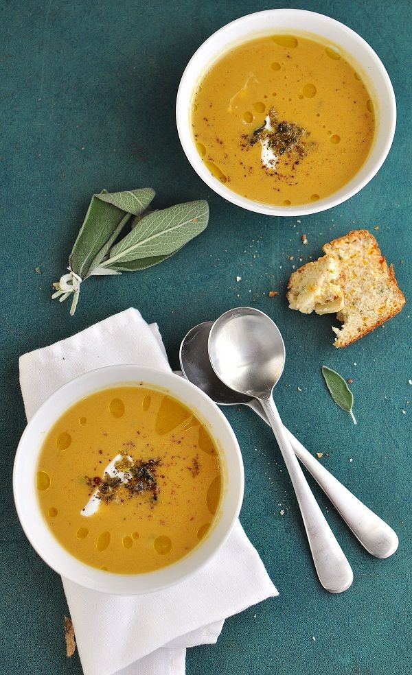 Squash, Sage & Apple Soup plus an Autumn Loaf - Verses from my Kitchen