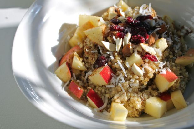 ... loaded quinoa bowl recipe dishmaps loaded quinoa bowl recipe dishmaps