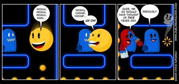 lol what ghost should have done Pacman