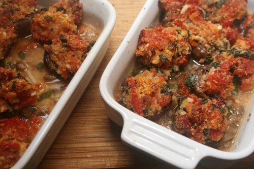 Stuffed mushroom   Food   Pinterest