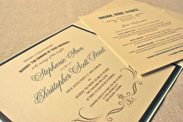 New Orleans Wedding Invitation New Orleans Wedding Invitation My SISTER Is Getting