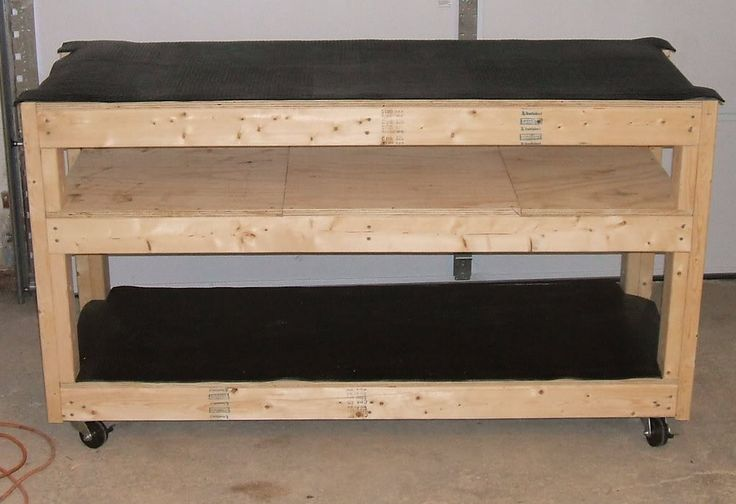 Image Result For Workbench With Wheels
