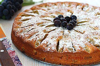 Пирог с вареньем и сметаной на скорую руку рецепт