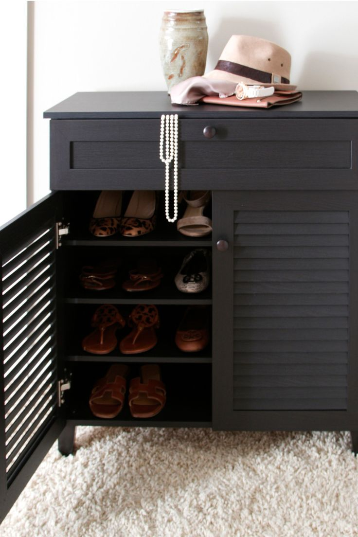 Shoe Cabinet With Drawer Diy Pinterest