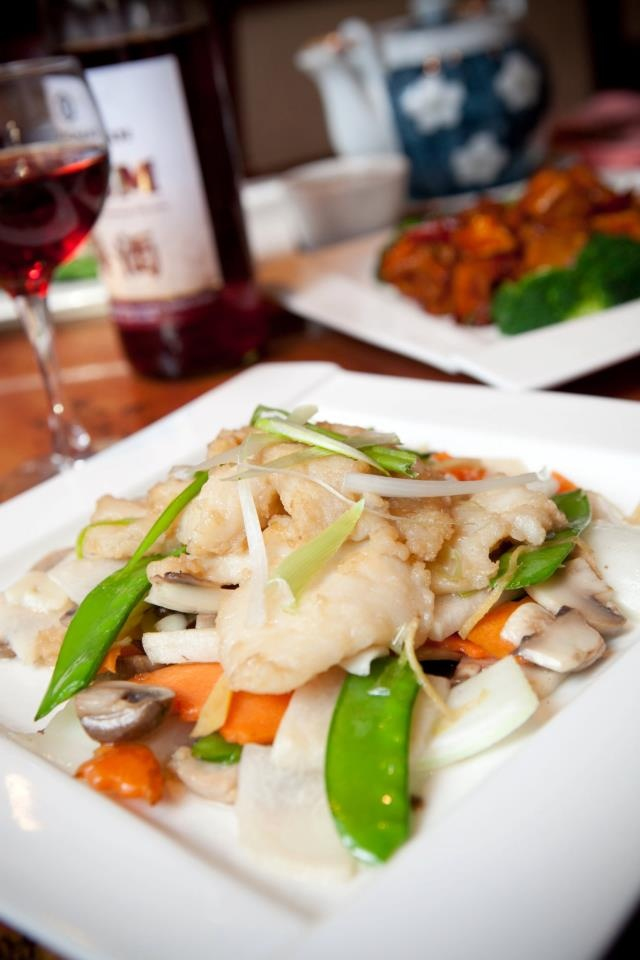 Sauteed Fish Filet with Ginger and Scallion