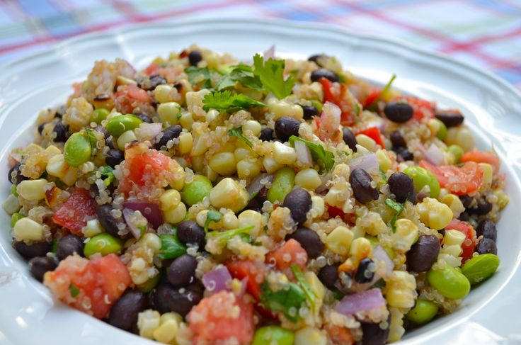 Southwest Quinoa Salad | Lunch Time! | Pinterest