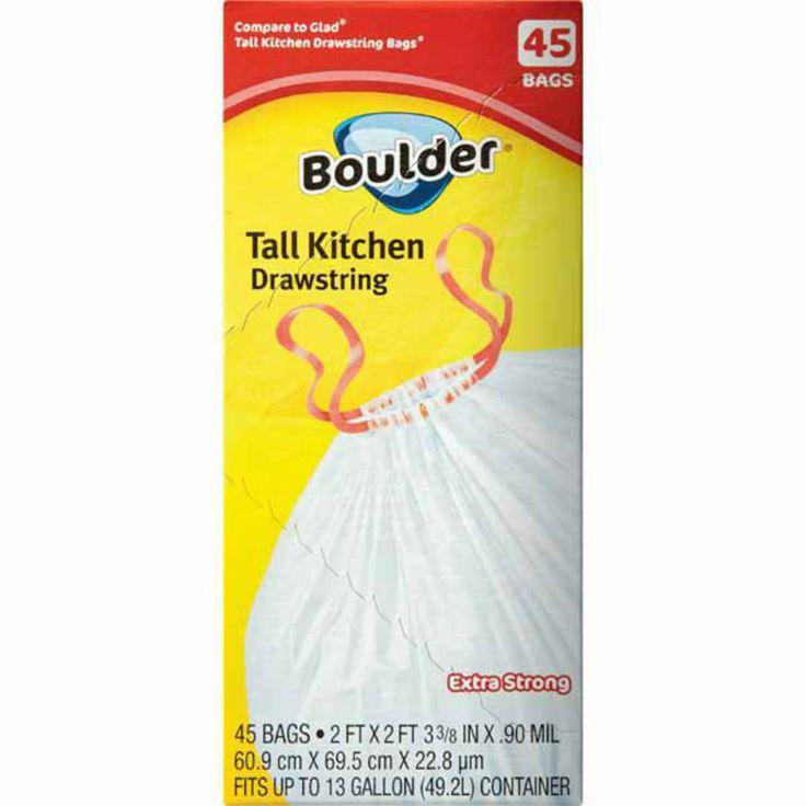 Boulder Tall Kitchen Trash Bags