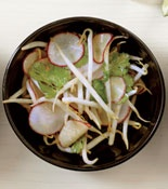 Bean Sprout-and-Red Radish Salad | Recipe