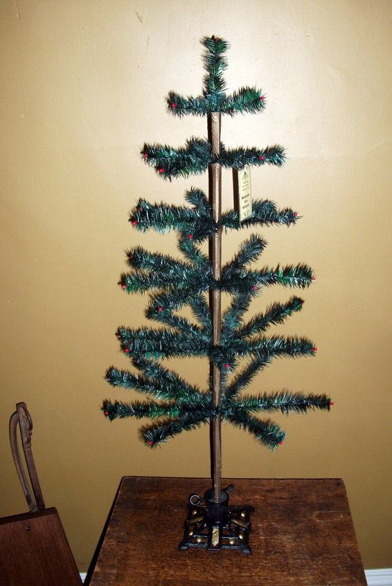 how to make a feather styrofoam tree