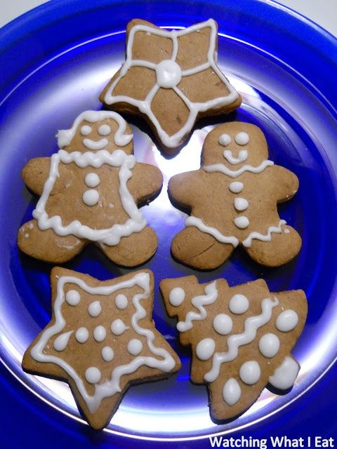 low fat gingerbread cookies ~ easy recipe for making with the kids # ...