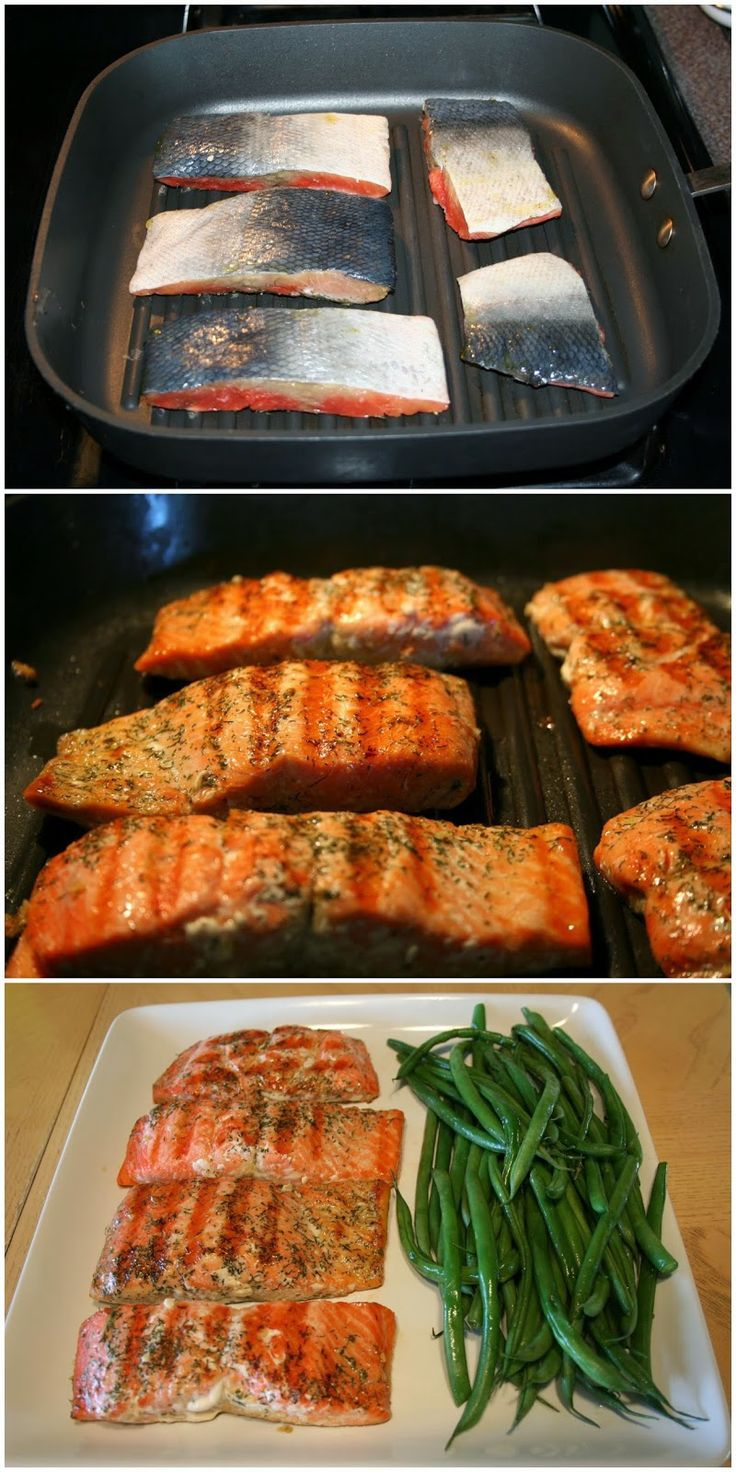 Grilled salmon steaks recipes easy | great recipes | Pinterest