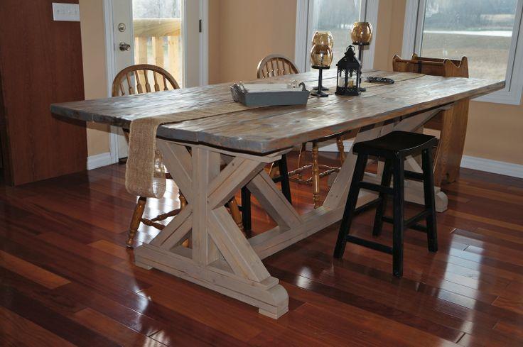 Country Farmhouse Kitchen Table