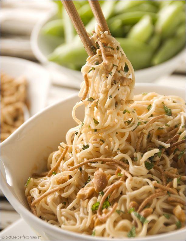 Peanut Butter Ramen Noodles | A Savory... | Pinterest