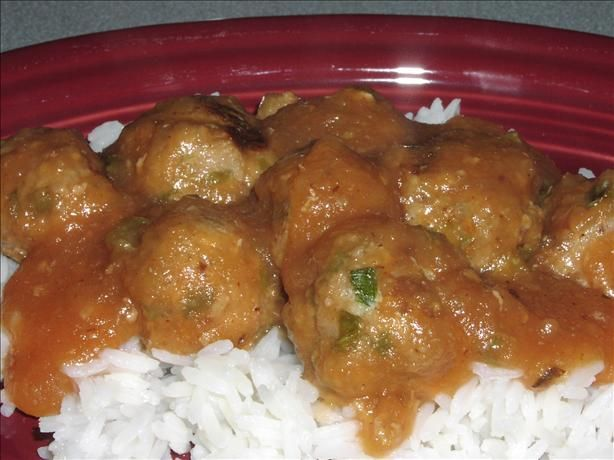 Ww Asian Meatballs...sweet sour sauce with apple sauce