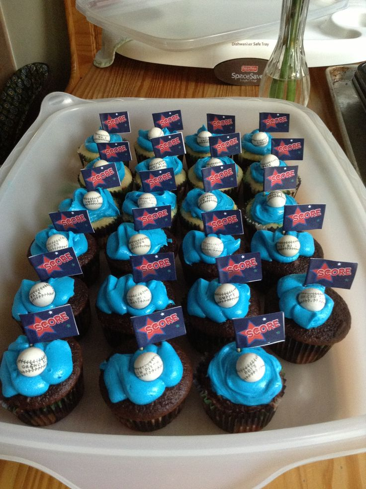 Cupcake Design For Birthday Boy : Pin by Melissa Pazda on Colton s Birthday ideas Pinterest