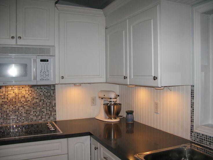 white beadboard and tile backsplash more fav 39 s pinterest