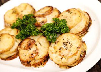 Muffin Pan Potato Gratins | Vegetables | Pinterest