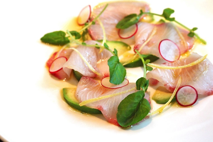 Fluke Crudo With Meyer Lemon Recipe — Dishmaps