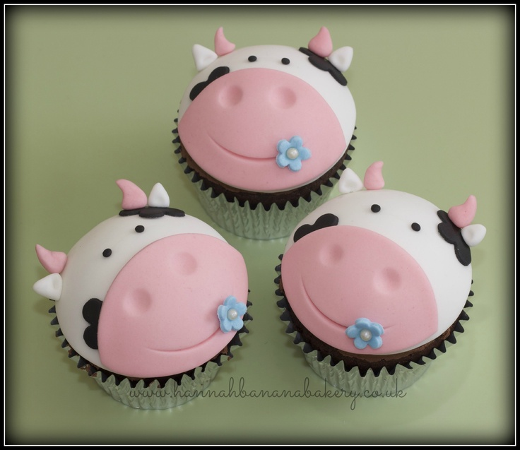 Easy Cow Cake Design : vegan cow cupcakes FOOD AND DRINK Pinterest