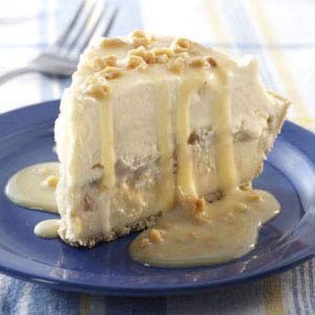 Butter Brickle Ice Cream Pie | FROZEN DESSERTS & TREATS | Pinterest
