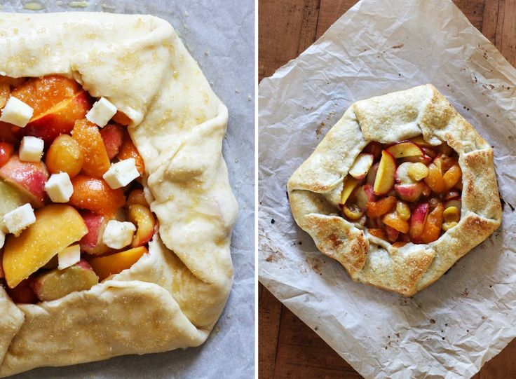 Stone Fruit Galette with Ginger and Vanilla | Recipe