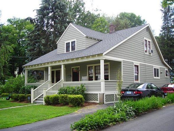 Bungalow color schemes craftsman bungalow home for Bungalow exterior design