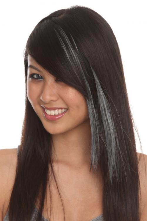 Clip In Hair Extensions Natural Grey Gray