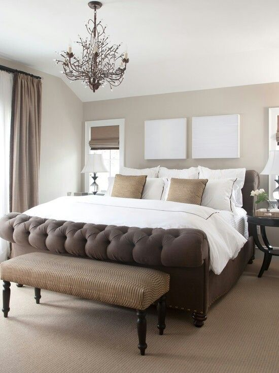 Neutral bedroom decor home ideas pinterest for Neutral bedroom ideas pinterest