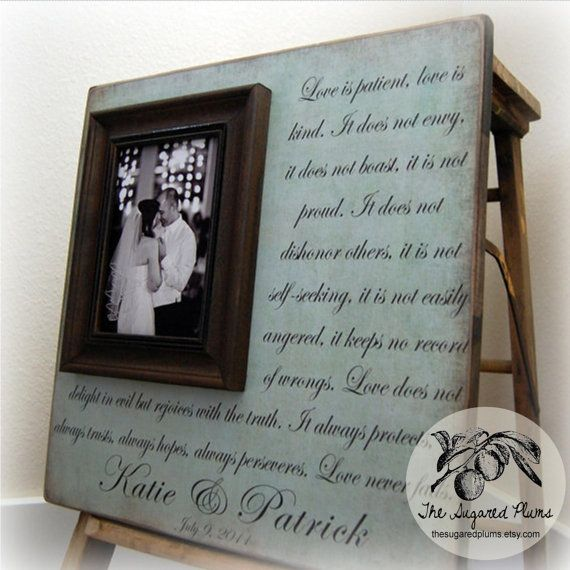 Unique Wedding Gifts Under USD75 : ... Frame 16x16 LOVE IS by thesugaredplums, USD75.00. Great wedding gift
