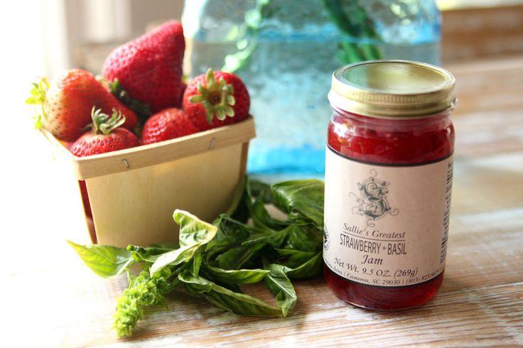 Strawberry + Basil Jam