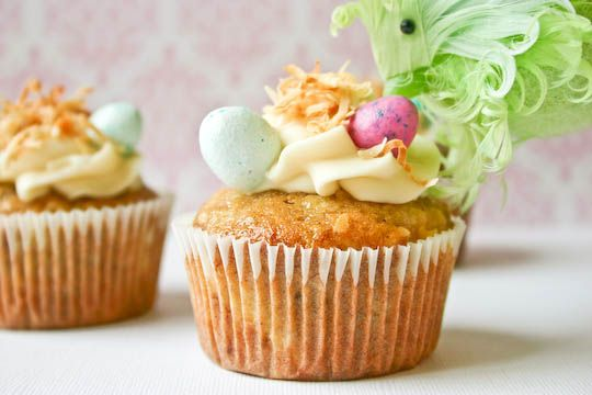 hummingbird cupcakes | delicious treats | Pinterest
