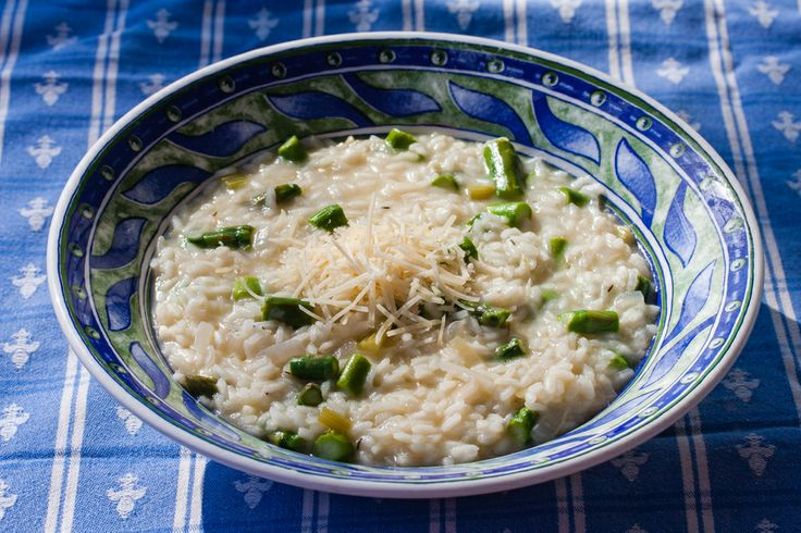 Lemon Asparagus Risotto | Side Dishes | Pinterest