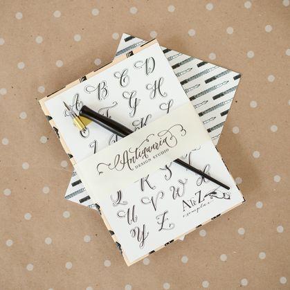 Calligraphy Starter Kit   Crafts   Pinterest