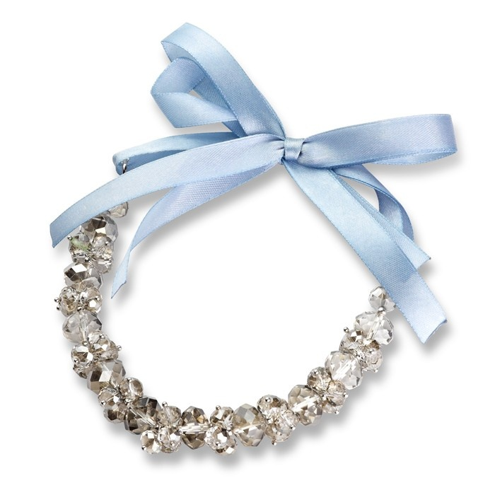 crystal ribbon necklace - for the bridesmaids?