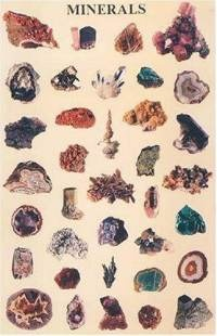 Minerals Poster (Posters) (Paperback) ~ Dover (Author) Cover Art