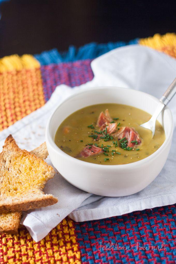 Pressure Cooker Split Pea Soup | Recipe