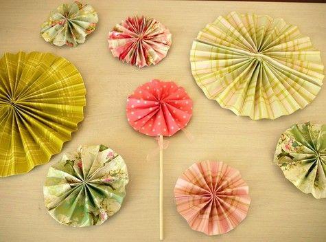 Paper Pin Wheels