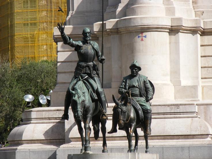 Don Quixote Bronze Sculpture
