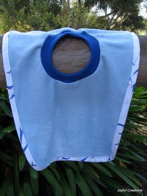 Better Life Blog: Upcycled Shirts to Baby Bibs