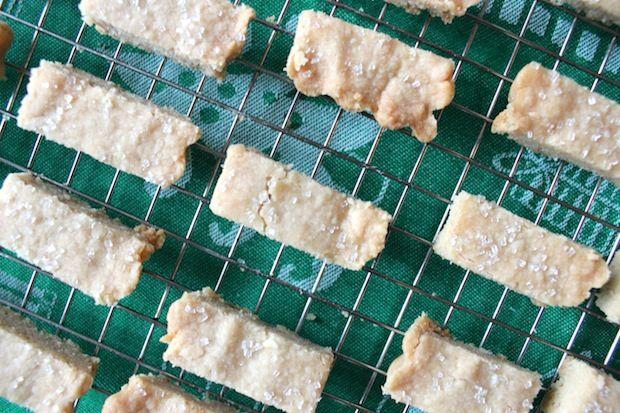 Twice Baked Shortbread Fingers