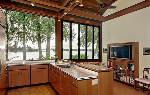 Pin by hema dm suppiah on dream homes pinterest - Front door opens to kitchen ...