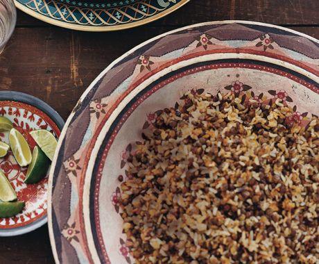 Peruvian Rice and Lentils (Tacu Tacu)--love love love--cheap and easy ...